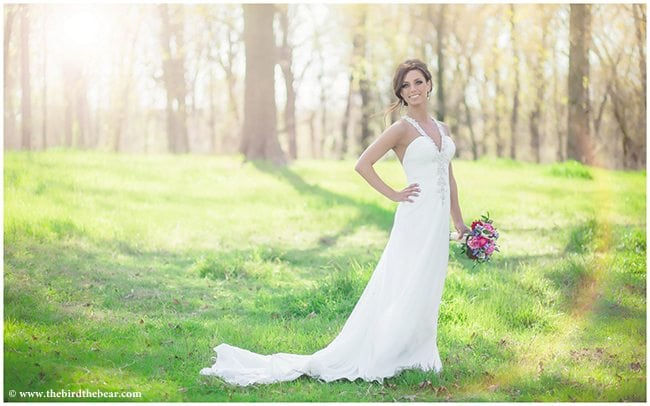 Field Bridal Portrait