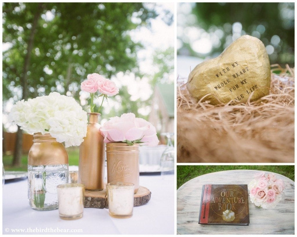 Pink_And_Glitter_Centerpiece