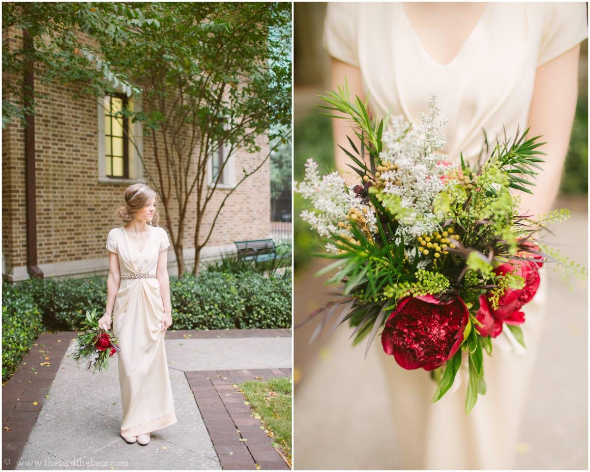 Julia Ideson Library Wedding | Sarah & Zach - The Bird & The Bear ...