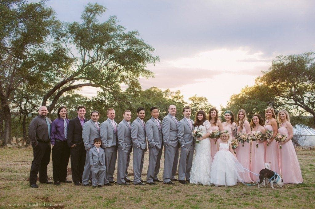 sunset-bridal-party-austin-tx