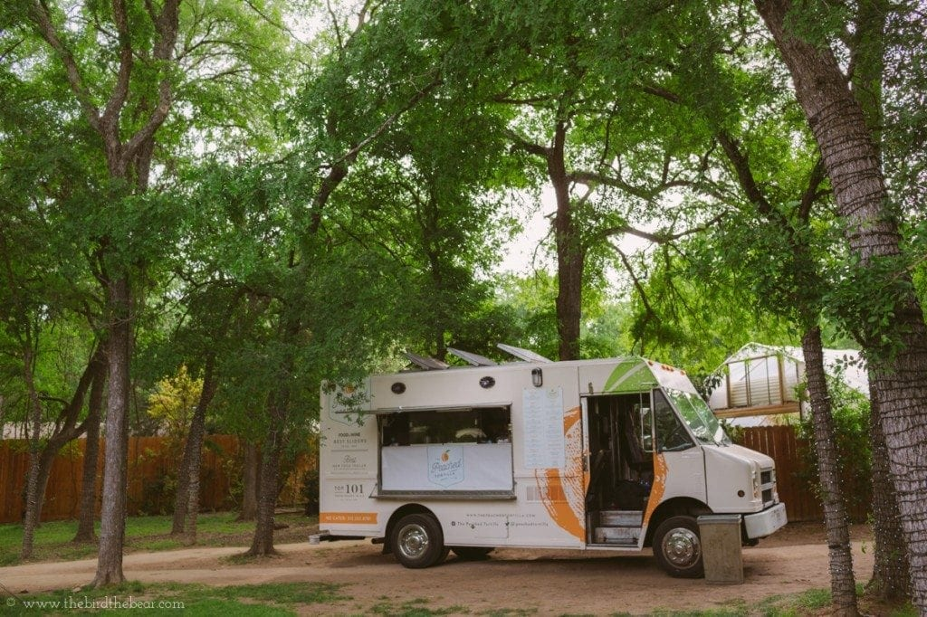 The peached tortilla catering food truck in austin, tx.