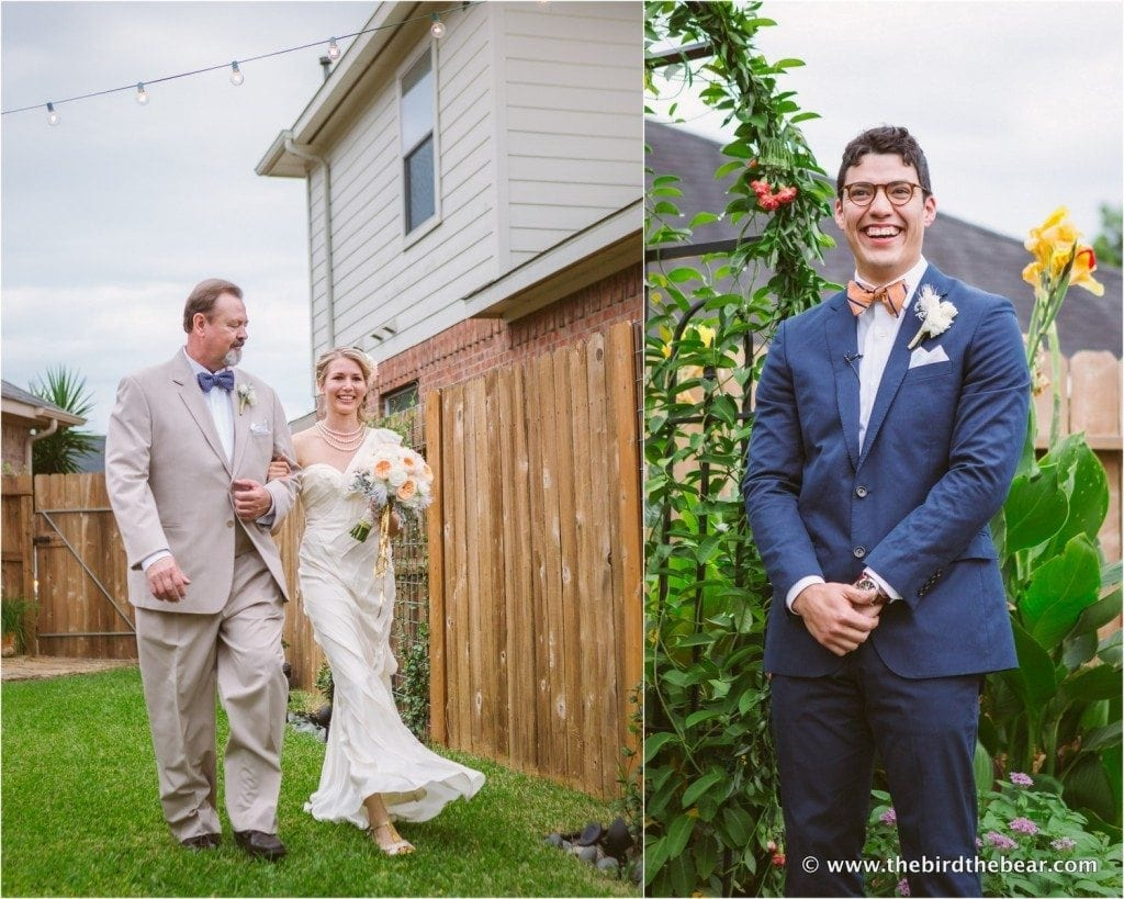 houston backyard wedding