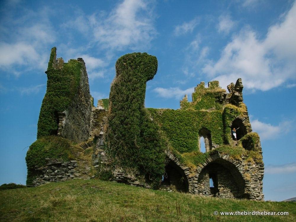 Ballycarbery Castle 2