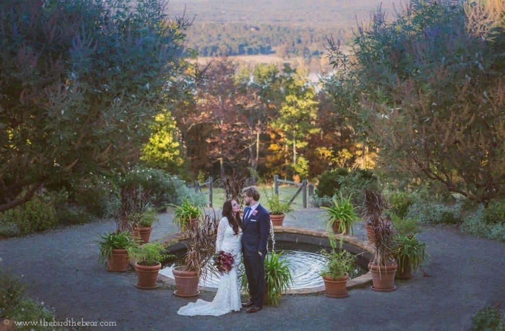 Fall colors wedding in Arkansas