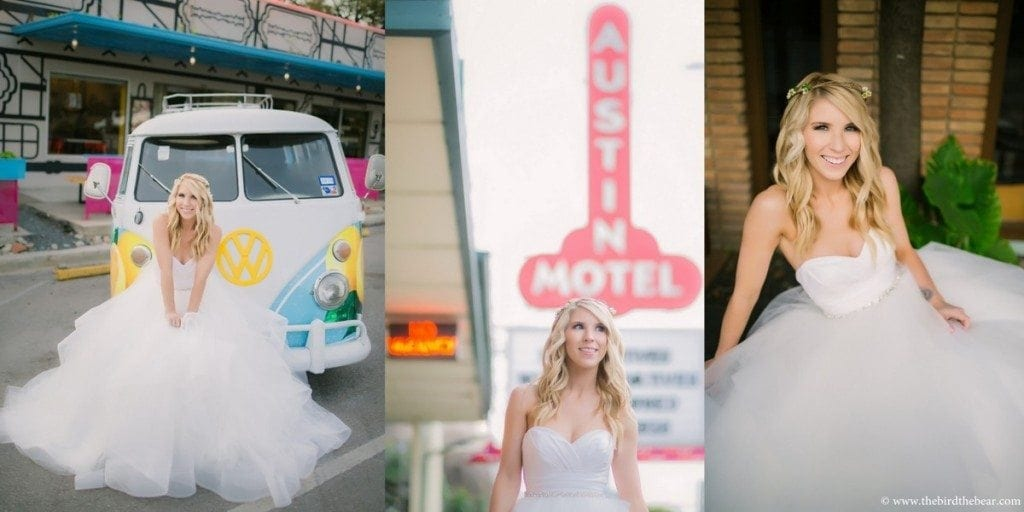 South Congress Bridal Portraits in Austin, TX