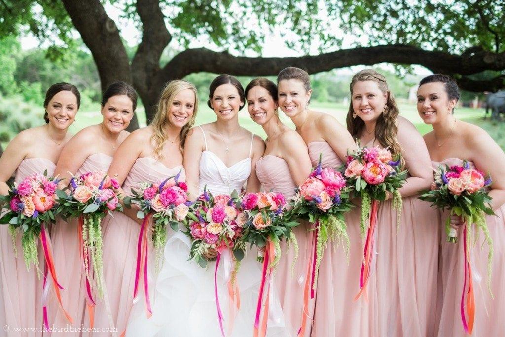 Bouquets of Austin wedding florist